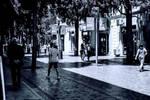 Torgovaya street, Baku city by naraphoto