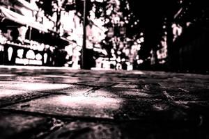Abstract street shot (Macro)