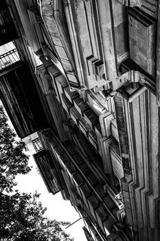 My vision of building (BW)