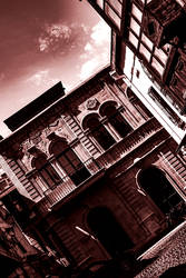 Old City buildings scape