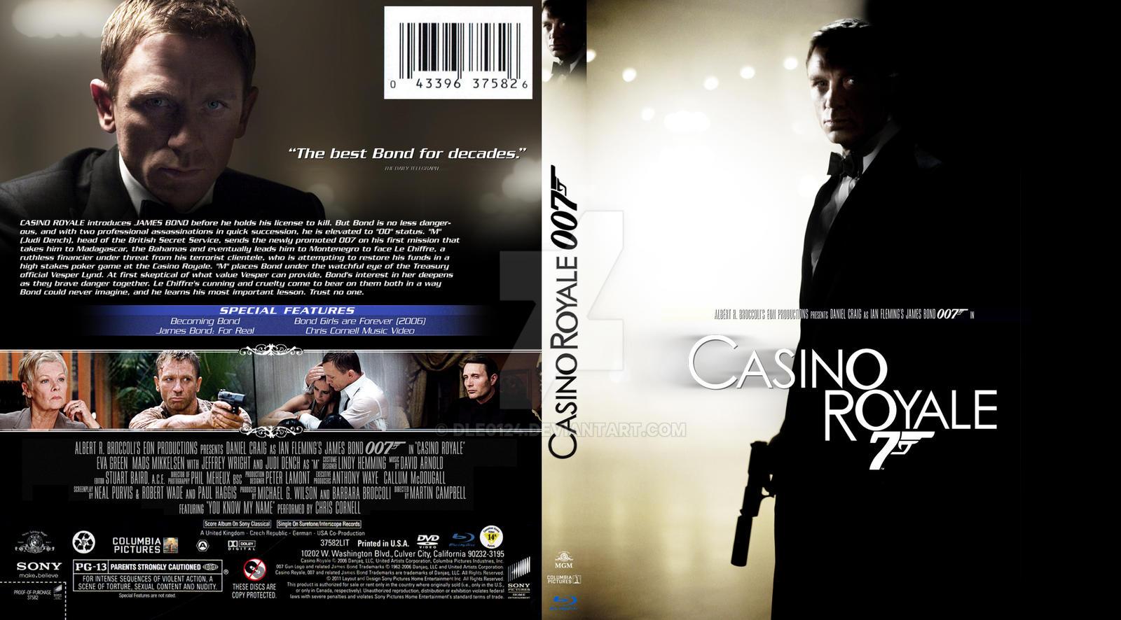 james bond casino royal cover