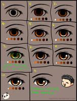 Simple Step by Step Eye Tutorial by EatMyPanda