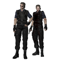 REUC: Wesker (S.T.A.R.S) fully poseable