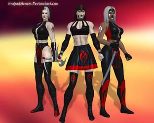 MKM:SZ Kia, Jataaka and Sareena by UndeadMentor