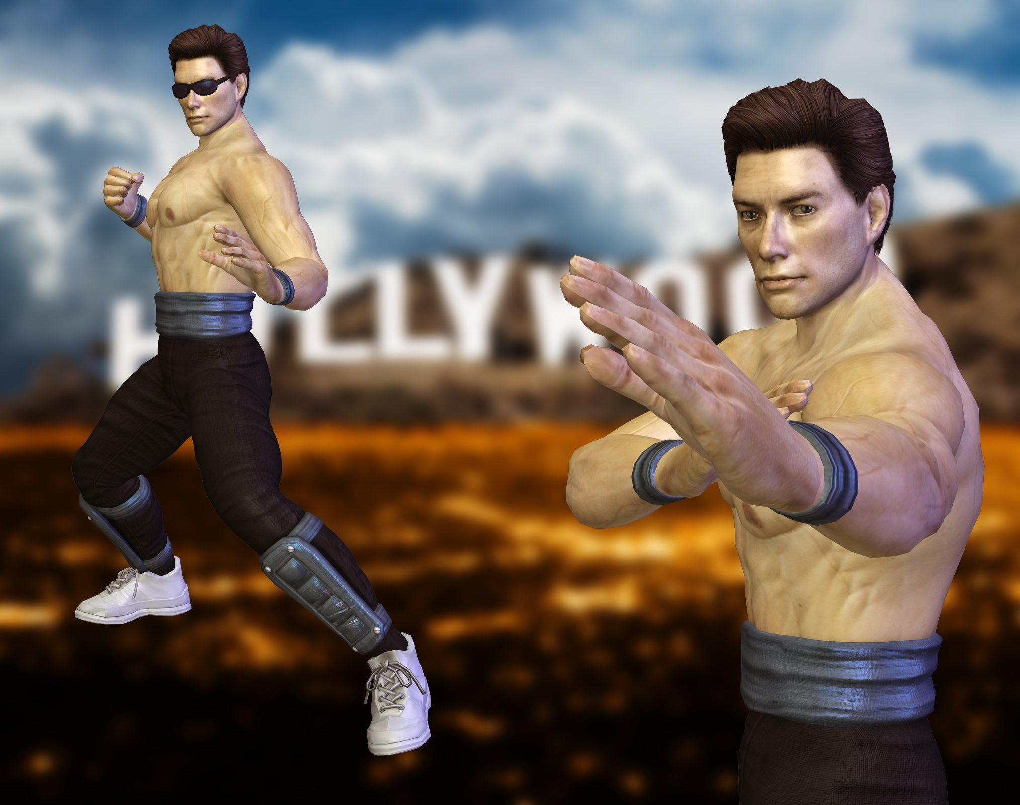 johnny cage by airachnid1301 - photo #16