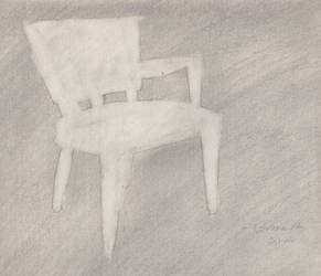 Drawing of a Chair (Negative Space) by ItWasHisSled