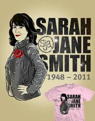 Sarah Jane Smith by zerobriant