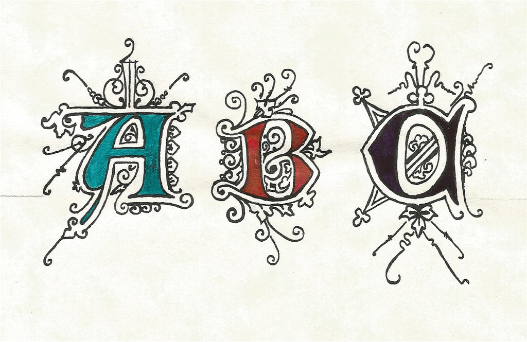 Calligraphy Abc With Frills By Septaliger On Deviantart
