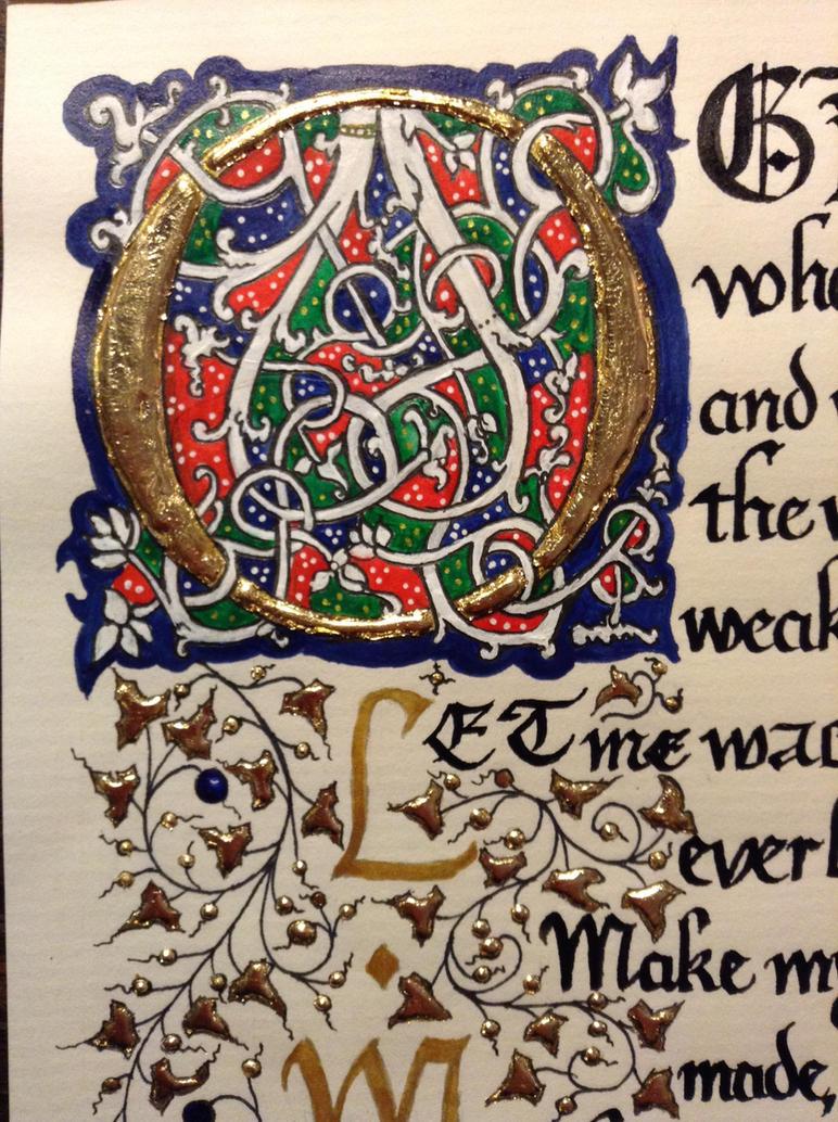Whitevine calligraphy by septaliger on deviantart