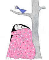 The Blue Bird by TootieFalootie