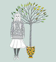 The Woman Who Planted Trees IV by TootieFalootie