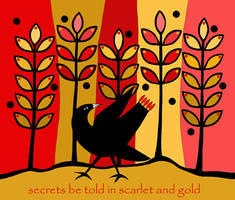 Scarlet And Gold
