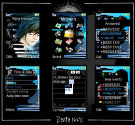 SE Theme -death note's l