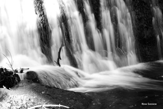 Black And White Falls