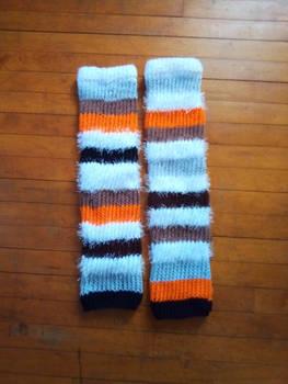 Custom Demeter leg warmers