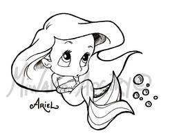 Baby Ariel by AogiryMiwako