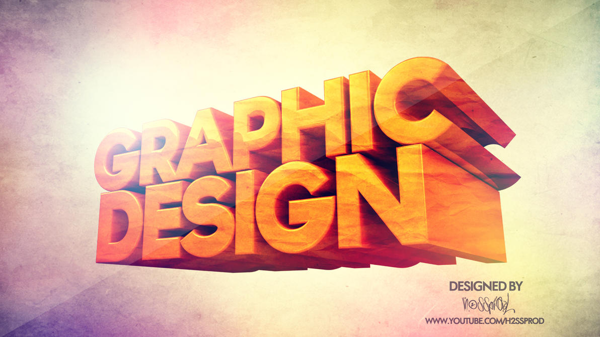 WALLPAPER-GRAPHIC-DESIGN-3D-BY-H2SSPROD By H2SSPROD On
