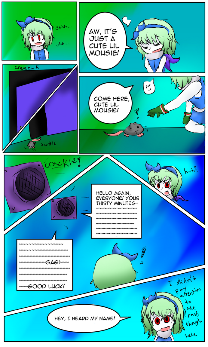 Nightmare Manor- Round 1- Page 2 by Yoshilove9