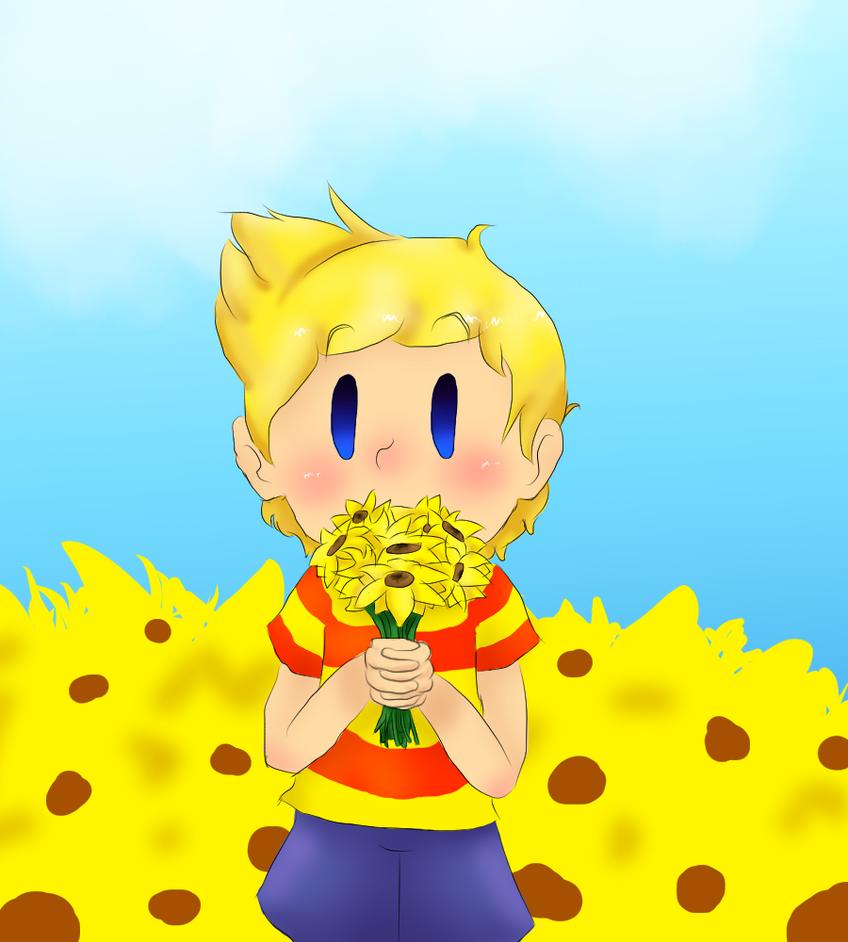 Little Sunflower by Yoshilove9