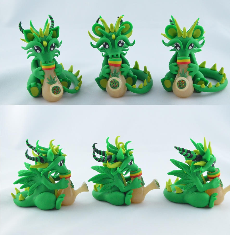 bongo dragons by claymeeples
