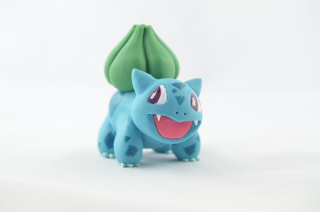Pokemon Bulbasaur by claymeeples