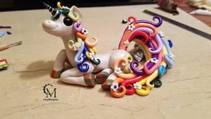 custom order - rainbow unicorn