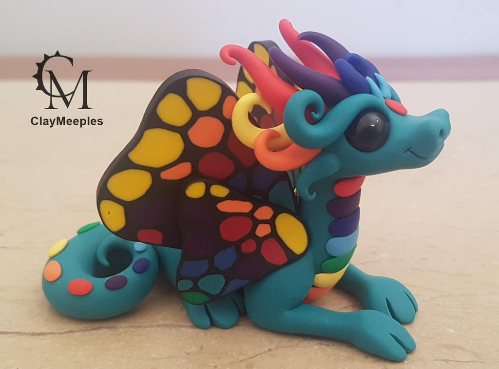 butterfly rainbow dragon