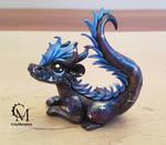 blue galaxy dragon