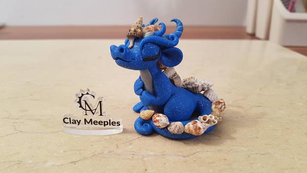 blue sea shell dragon