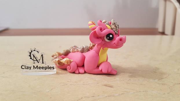 pink sea shell dragon