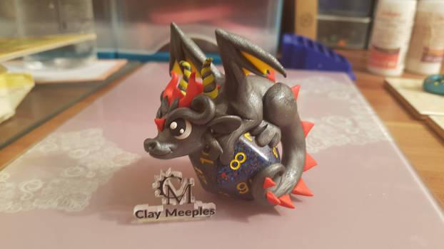 dragon on a dice