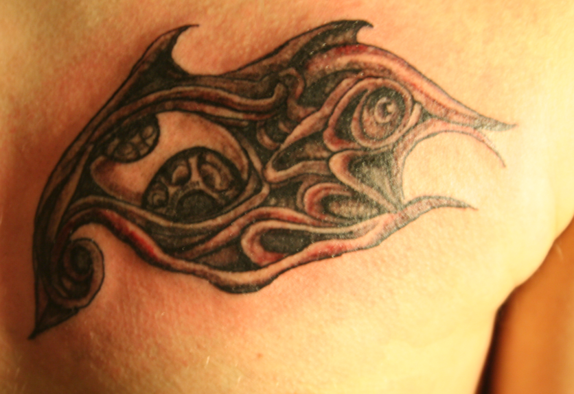 tool eye tattoo by nefariousinktattoos on deviantart. Black Bedroom Furniture Sets. Home Design Ideas