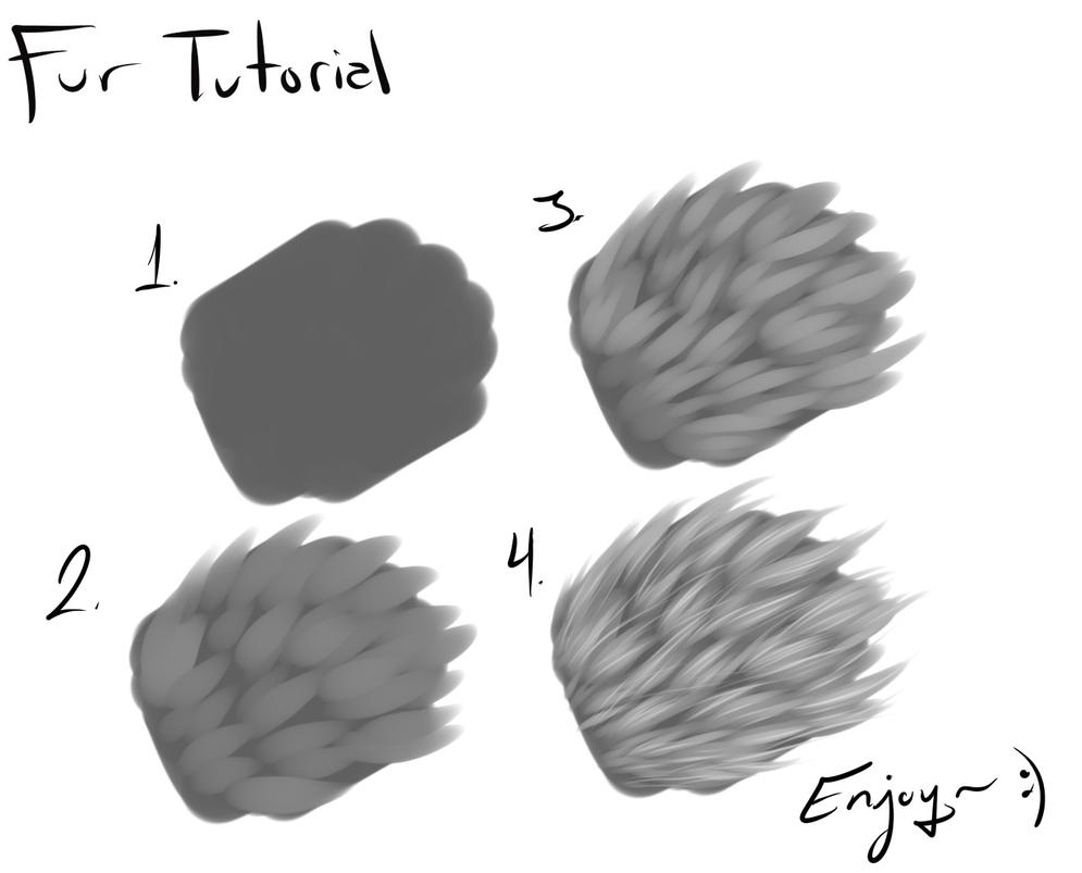 Fur Tutorial PaintToolSAI Download! by Napoisk on DeviantArt