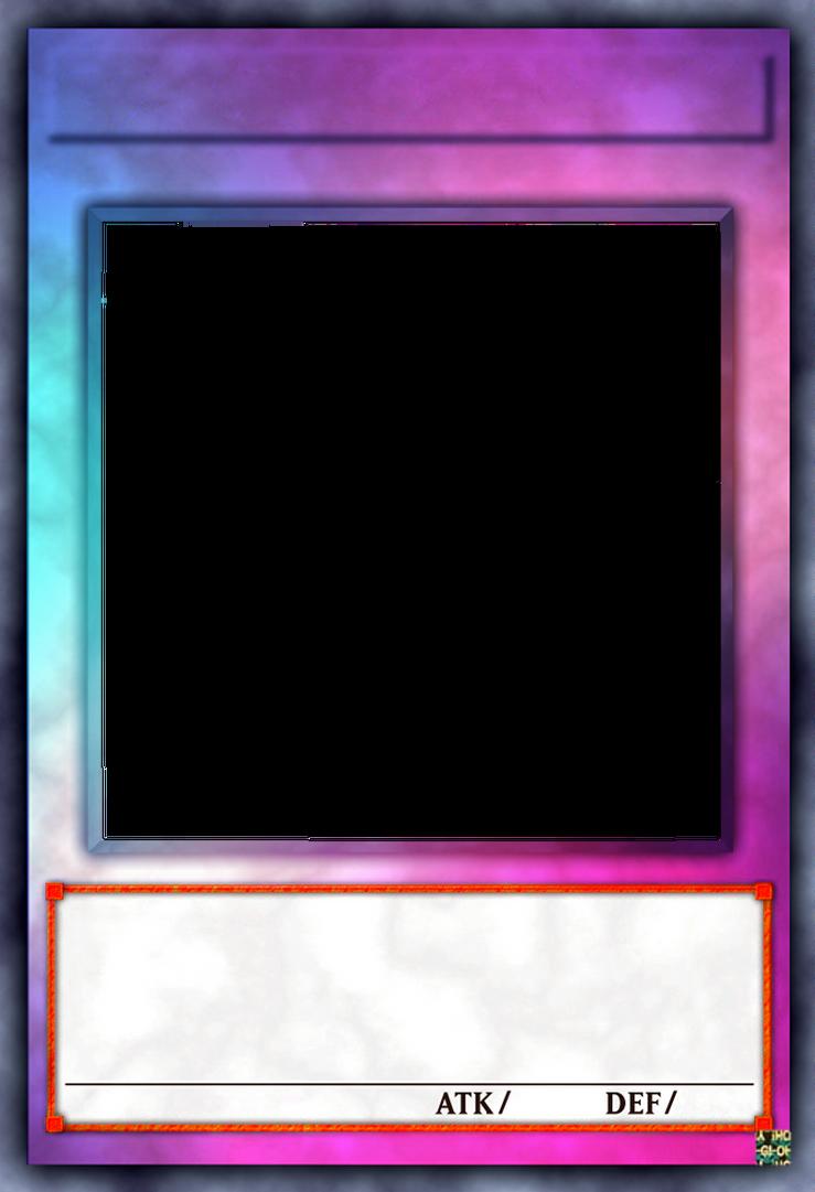 Yu-Gi-Oh! Card Template V13 (Smooth Rainbow) by GraysoGoodwn on ...