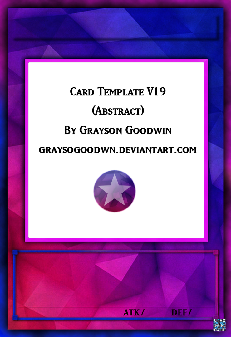 Abstract Template by GraysoGoodwn