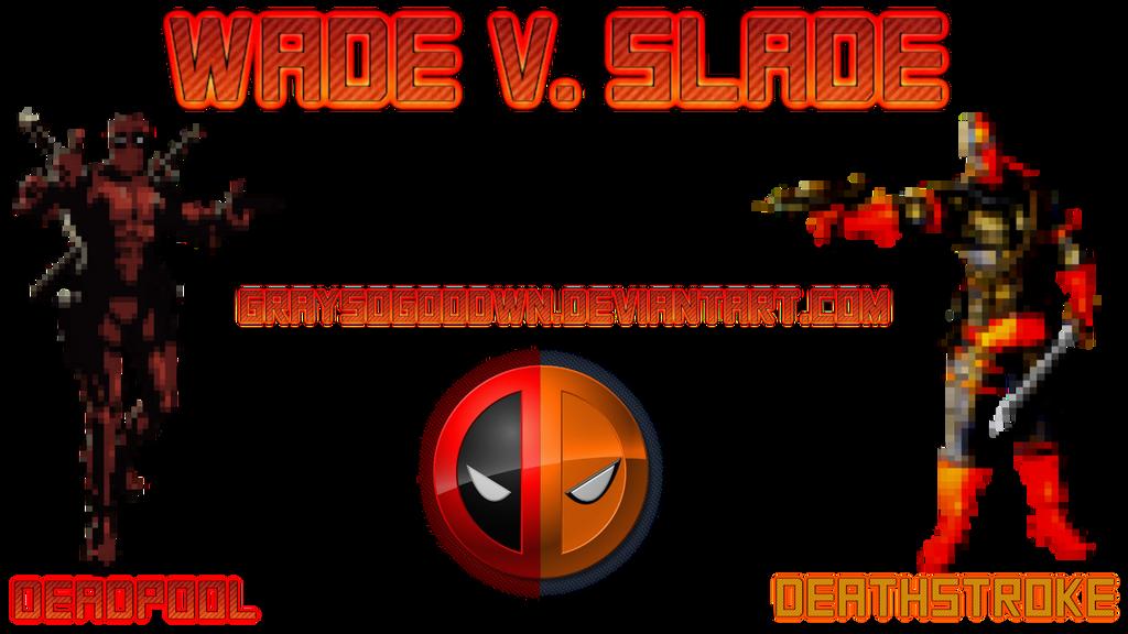 Deathstrock and Deadpool 16 bit by GraysoGoodwn