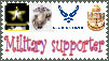 military supporter stamp by Dracconus