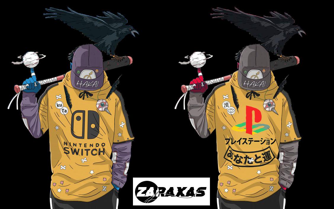 Crow-Baseball-Boy_(Nintendo)(Playstation)-Render by ZaRaXaS13