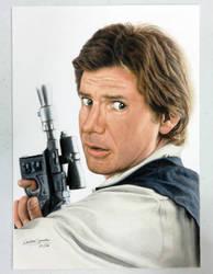 Han Solo (Star Wars) by CaroGonzales