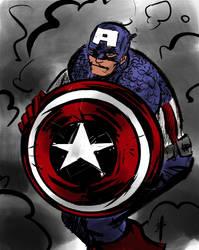 the captain by mojokingbee