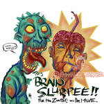 brain slurpy by mojokingbee