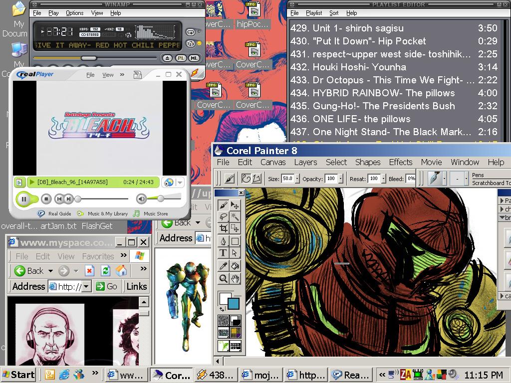 desktop by mojokingbee