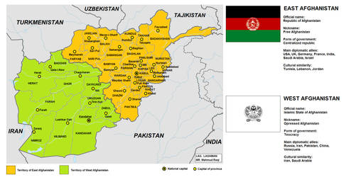 Partition of Afghanistan