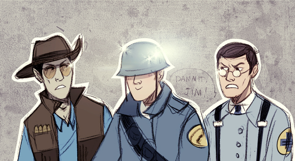 TOS x TF2 by Kethavel