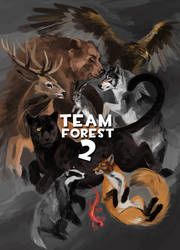 Team Forest 2 by Kessavel-art