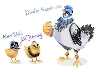 Doodle Burekovic by Kessavel-art