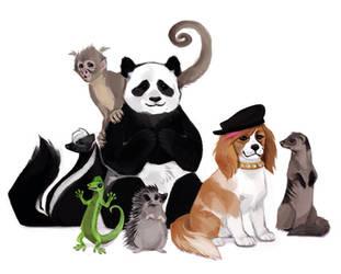 Littlest Pet Shop by Kessavel-art