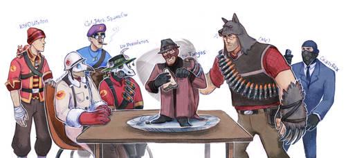 Sandwich stealer by Kessavel-art
