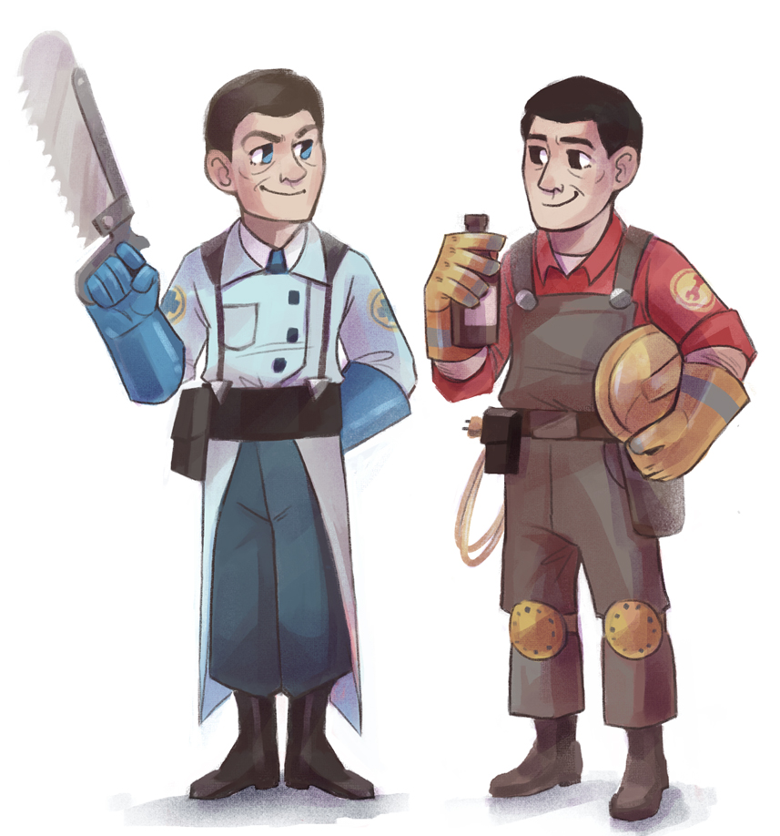 Doctor and Engineer by Kethavel