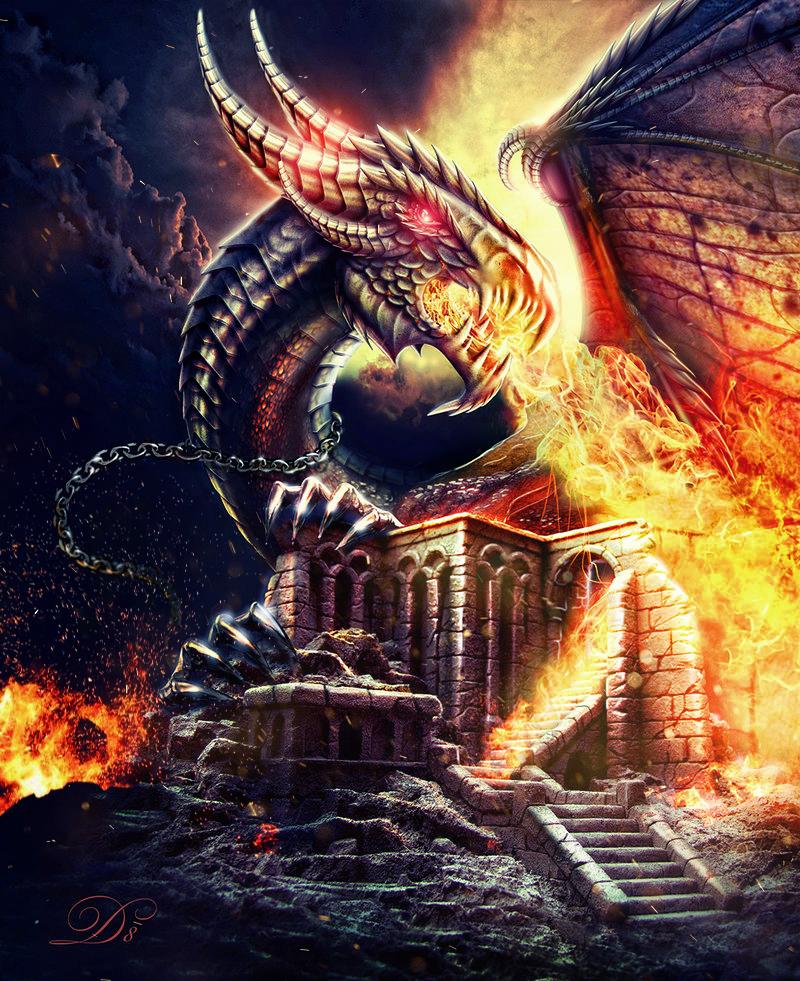 Dragon by AllaD8